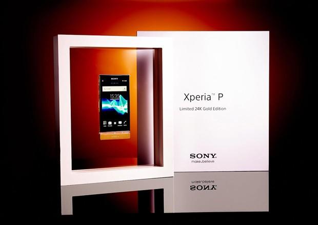 Zlatá Sony Xperia P může být vaše!