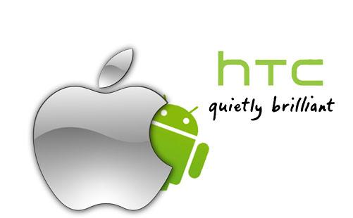 Apple a HTC se dohodly na vzájemném propůjčení patentů