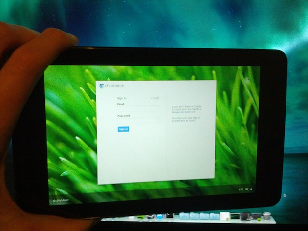 Chrome OS na Nexus 7