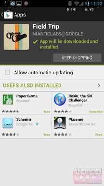 Play Store 3.10.9 přináší novinky [apk]