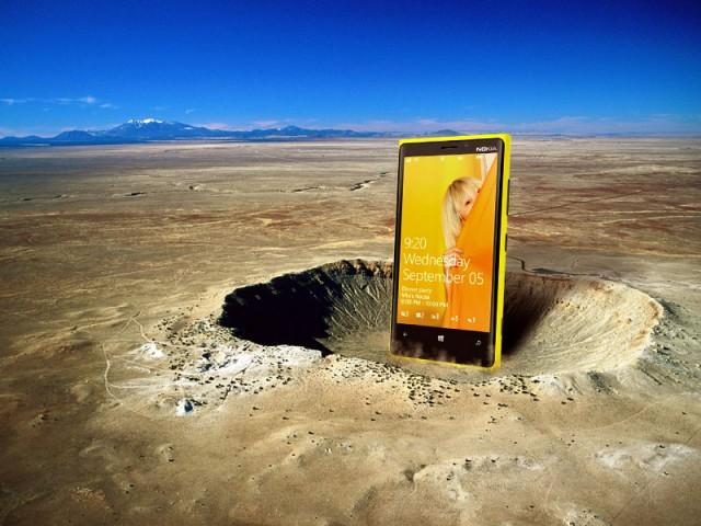 Nokia Lumia 920 v náročném testu odolnosti