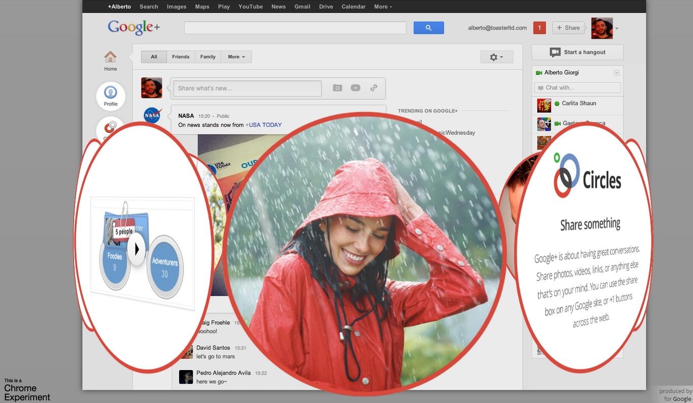 ODEM – Prozkoumejte Google+ v novém rozměru