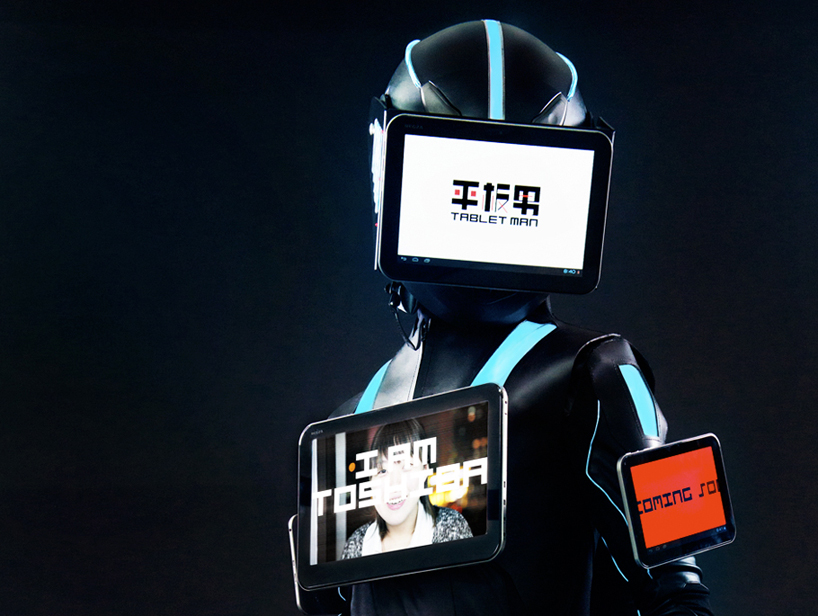 TabletMan: originální reklama od Toshiby