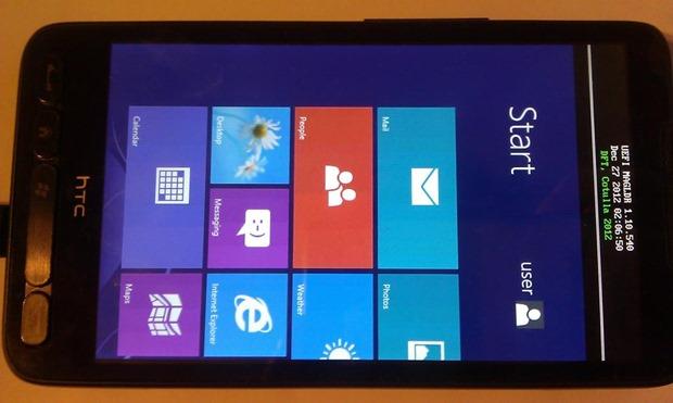 HTC HD2 s Windows RT? Proč ne