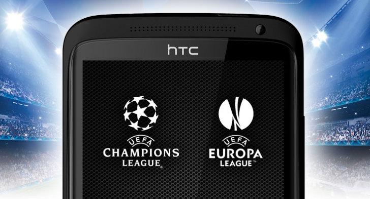 Fotbalová UEFA podepsala spolupráci s HTC