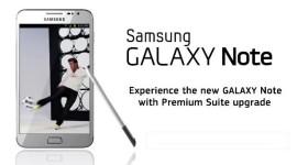 Samsung oficiálně představil Galaxy Note Premium Suite