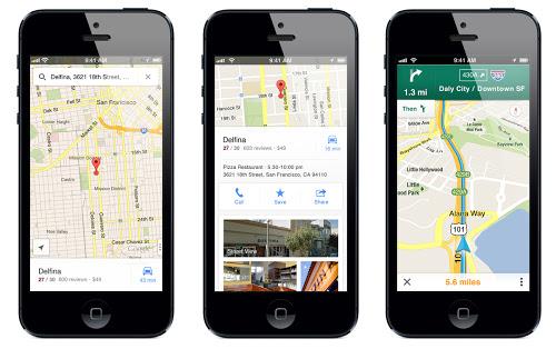 Google Mapy oficiálně pro iOS
