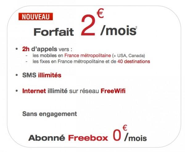 Free Mobile má další úžasnou nabídku