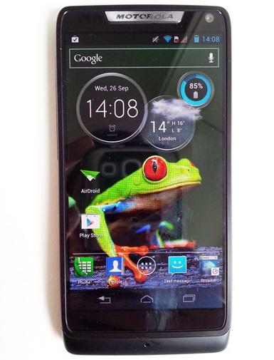 Motorola RAZR i – ukázka schopností kamery
