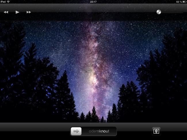 Mírně inovován byl i lockscreen na iPadu