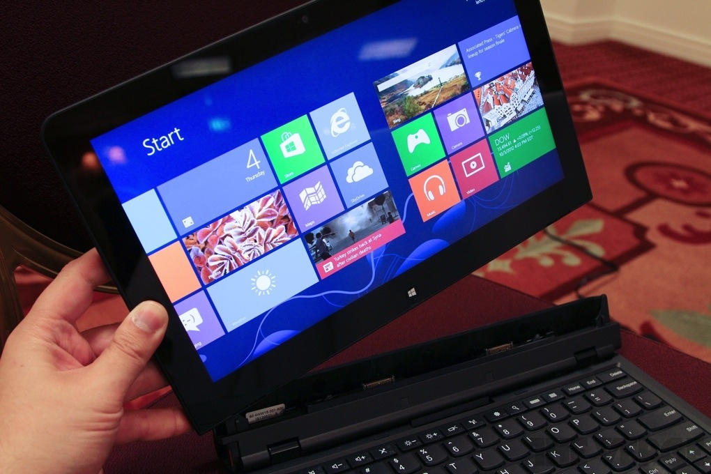 Lenovo ThinkPad Helix – tablet/notebook s Windows 8