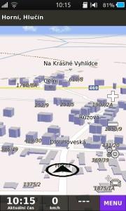 ukázka Be-on-road GPS Navigace