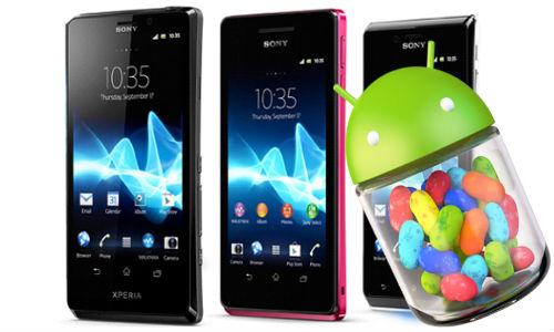 Sony: Jelly Bean aktualizace v alfa verzi, finální verze do konce března