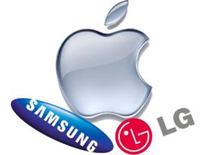 Apple-Samsung-Lg