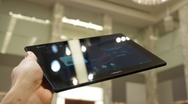 Sony Xperia Tablet Z na videu a fotografiích