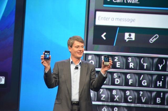 BlackBerry (RIM) představuje – systém BB10, smartphony Z10 a Q10