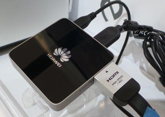 Huawei uvedl čtyřjádrový multimediální přehrávač s Androidem
