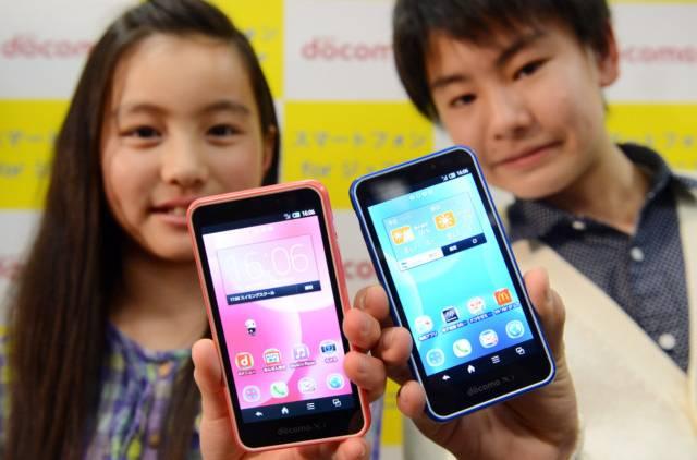 NTT DoCoMo Junior SH-05E: Nový přírůstek pro vaše dítě