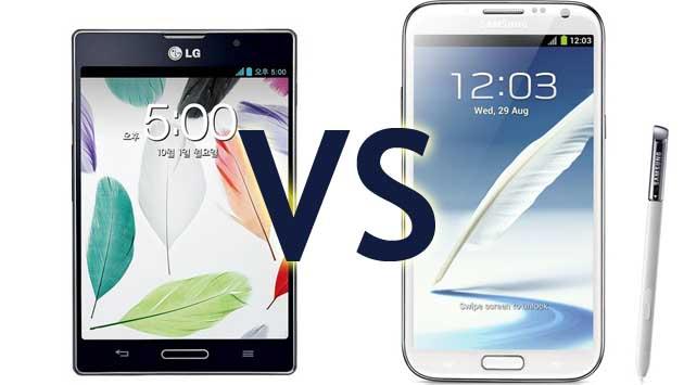 Galaxy Note 2 a Optimus Vu prodejním hitem v Jižní Koreji