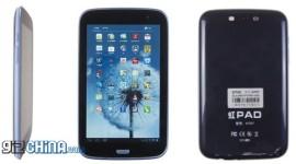 HongPad H707: 7″ telefon už jen tak do kapsy nestrčíte