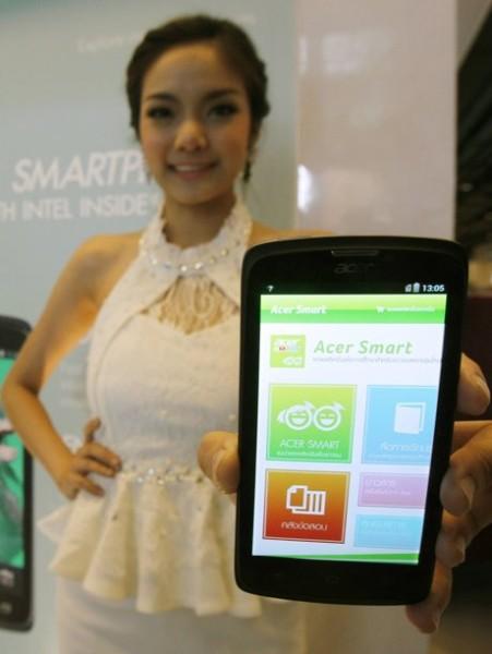 Intel a Acer představují smartphone Liquid C1