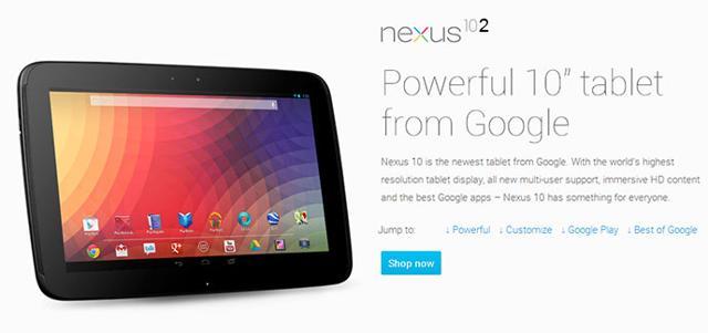 Nexus 10 se dočká modernizace?