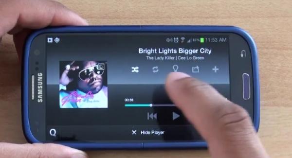 Samsung Music Hub i pro smartphony jiných výrobců