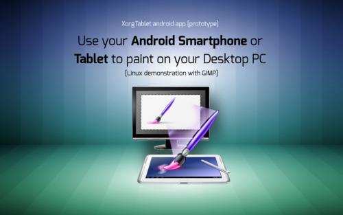 XorgTablet – malování v Gimpu pomocí tabletu [video]
