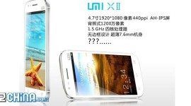 UMI X2, číňan s FullHD displejem a čtyřjádrem