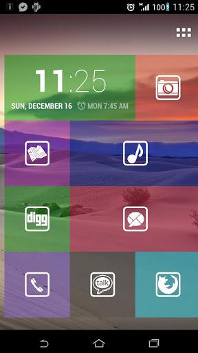 Tile Launcher: vydlážděte si svůj Android