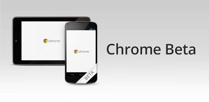 Chrome Beta pro Android – když chcete testovat
