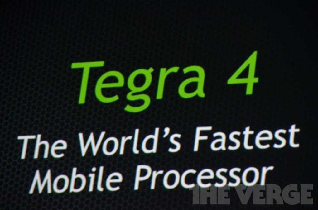 Nvidia uvedla Tegru 4