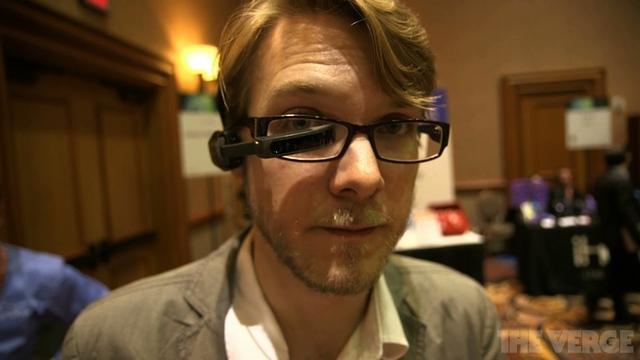 Vuzix M100 – konkurent pro Google Glass