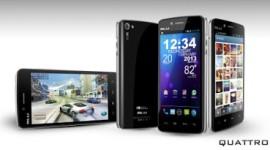 BLU představil novou řadu telefonů Quattro s Tegrou 3