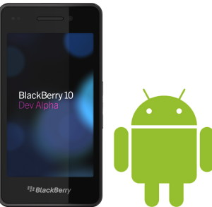 BlackBerry 10 Android
