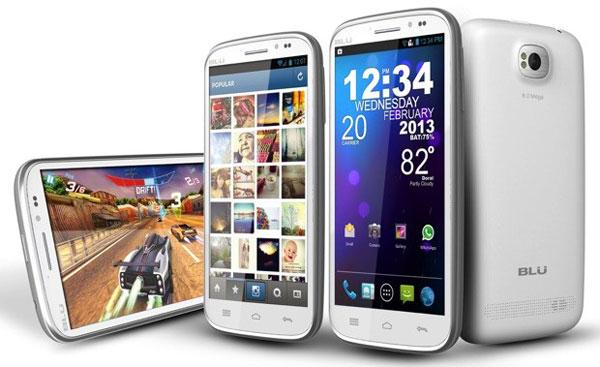 BLU představuje další smartphony: phablet Studio 5.3 II a odolný Tank 4.5