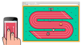 Chrome Super Sync Sports: experimentální hra z dílny Google Chrome