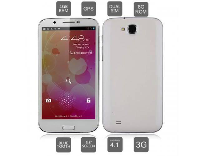 Čínský Cubot A6589: levná varianta Galaxy Note II