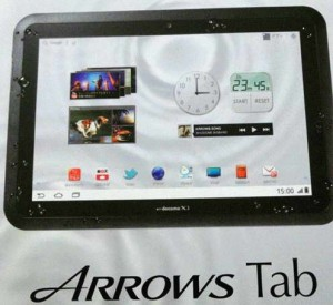 Fujitsu Arrows Tab s obří baterií – 10 080 mAh!