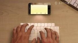 Laserová klávesnice v iPhonu? Apple podal patentovou přihlášku