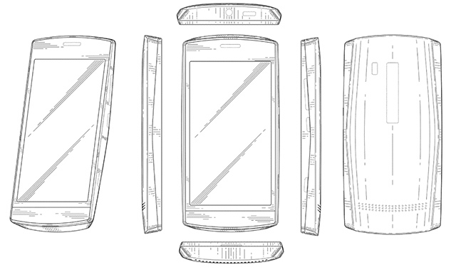 Neodtajněná Nokia Lumia objevena v patentu?