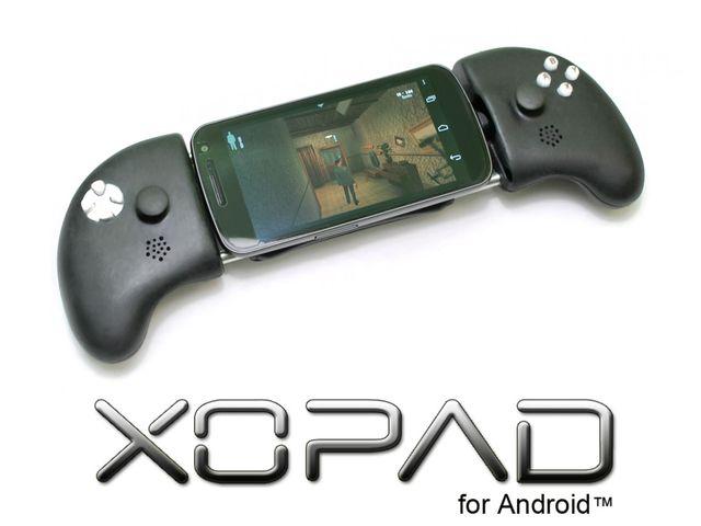 XOPAD – herní ovladač, který nabije smartphone