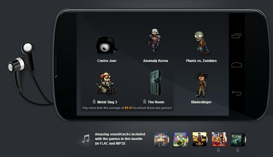 Soutěž o balík her z Humble Mobile Bundle pro Android