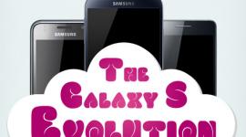 Infografika – rodina smartphonů Galaxy S (1,2,3,4)