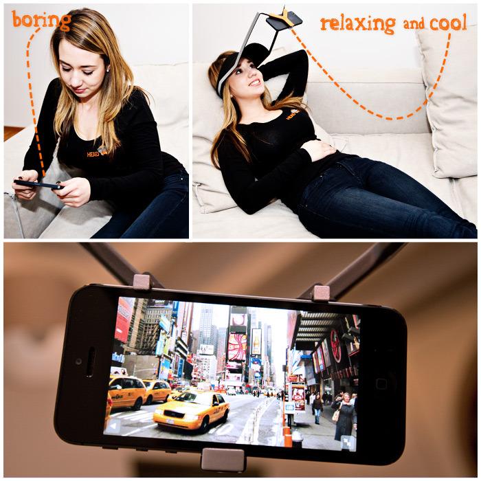 Headflat – když nechcete držet mobil v rukách