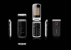 Alcatel One Touch 536 - černé provedení