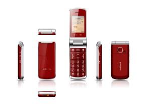 Alcatel One Touch 536 - červené provedení