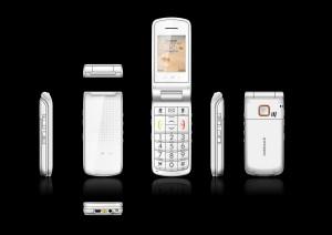 Alcatel One Touch 536 - bílé provedení