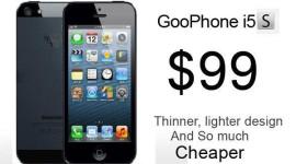 GooPhone i5S: Čínský iPhone 5S za pouhých 99 $ [video]