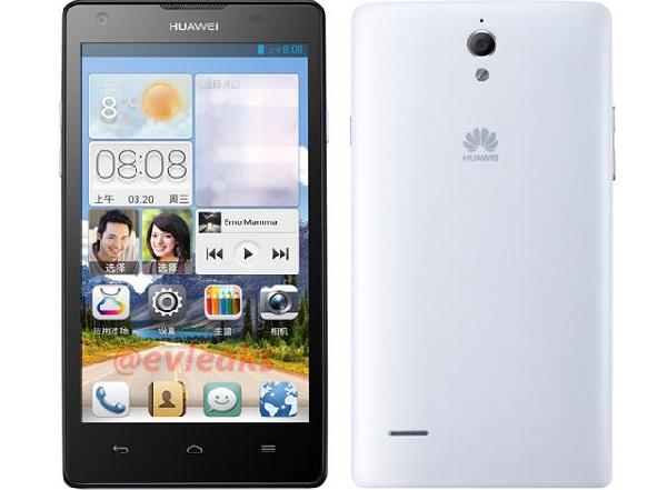 Huawei připravuje 5palcový Ascend G700